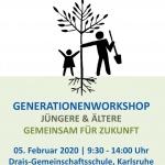Workshop der Generationen an der Drais-GMS