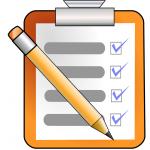Materialliste für das neue Schuljahr
